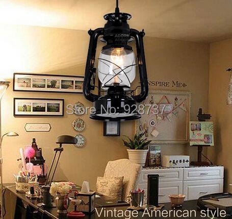 American Retro kerosene chandelier with restaurant and bar sets corridor study aisle lighting<br><br>Aliexpress