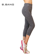 Buy B.BANG Fashion Women Leggings Casual Female Capris Leisure Aerobics Exercise Elastic Breathable Pants Workout Quick-Dry for $8.68 in AliExpress store