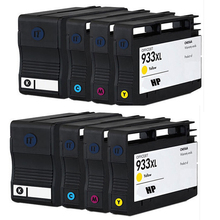 8 HP932 HP933 Compatible ink cartridge For hp6100 6600 6700 7100a 7610 printer with ARC chips hp932 hp933