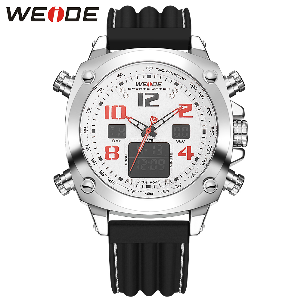 buy fashion weide men 39 s watches analog. Black Bedroom Furniture Sets. Home Design Ideas