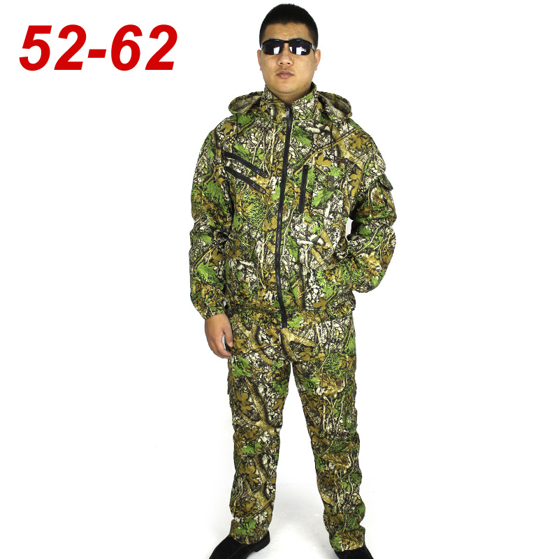2016 Outdoor Army Men Tactical Camouflage Uniform Combat Suit Military Woodland Jacket + Pants 6xl - Bigfox Store 617405 store