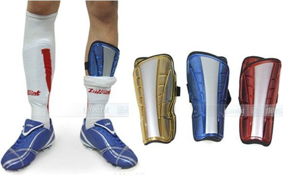 Free Shipping LUWINT sports soccer football lower leg calf protector Shin Guard for young children child