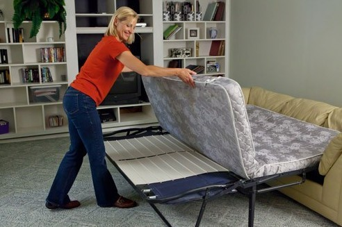 how to fix a sagging sofa bed