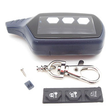 Russia version FX-5 case keychain for KGB FX-5 lcd remote two way car alarm system free shipping(China (Mainland))