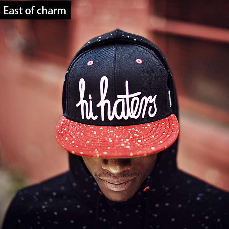 High Quality Cool Snapback Cap Red Snapback Hat Letter Hip Hop Cap Fashion Baseball Cap Leisure Gorras Planas New Casquette(China (Mainland))