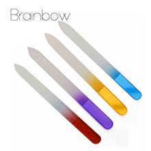4pcs Crystal Glass Nail File Colorful Nail Art Styling Tools Buffer Manicure UV Gel Polisher Nail Files Polish Tool Cnd Shellac(China (Mainland))
