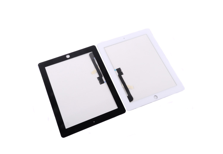 for ipad 3 touch New and original (General for ipad 3 and for ipad 4) Black and white the same price  free shipping