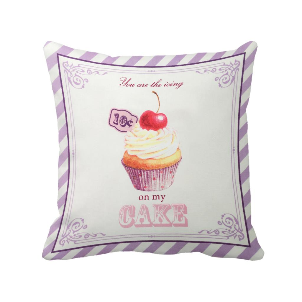 Custom Printed Throw Pillow Cases : Cupcake Pillow Cases Reviews - Online Shopping Cupcake Pillow Cases Reviews on Aliexpress.com ...