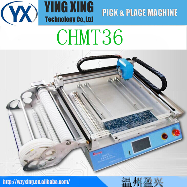 CHMT36,Surface Mount System, the Best Pick and Place Machine,0402, 5050,0603(China (Mainland))
