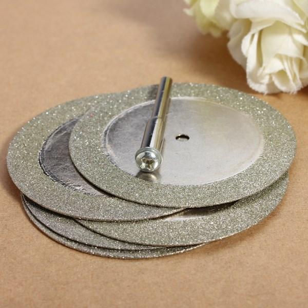 Wholesale Price 5pcs 50mm Diamond Cutting Discs Drill Bit For Rotary Tool Dremel Stone Blade