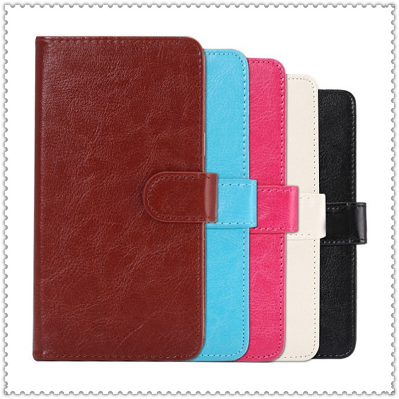 2016 Hot Sale PU Leather Protection Phone Case With 5 Colors And Card Wallet For Explay Space(China (Mainland))