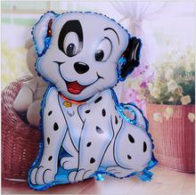 46*70cm Children's toys wholesale leather balloon helium balloon cute cartoon foil large Pug(China (Mainland))