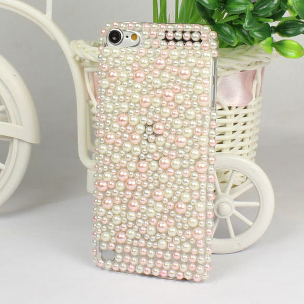 Elegant &Lovely Gift New Luxury Pearl Lovable Hard Back Case Cover Apple ipod Touch 5 5G 5TH - ShenZhen HongTai Electronics CO.,LTD store