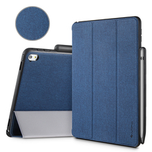 For iPad Pro 9.7 Case, iVAPO Premium PU Leather Slim Fit Flip Cover Folio Case With Apple Pencil Holder, [Stand Feature], Auto Sleep/Wake Smart Fabric...(China (Mainland))