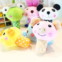 Lovely cartoon pet cat squeaky squeaker dog toy plush dog puppy  Sound Toy stronger dourable dog chew toy pet product