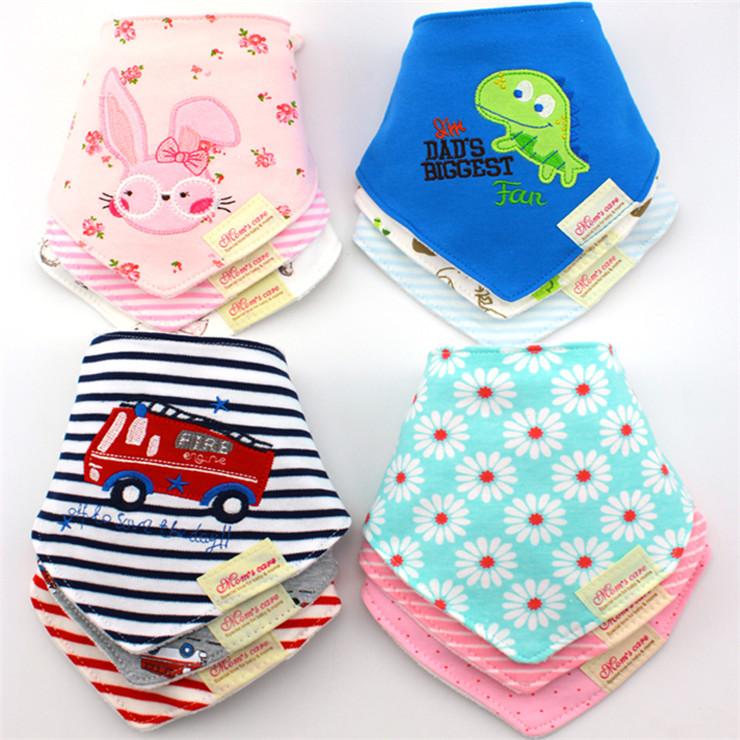 Newborn Baby Bibs Cotton Baby Boy Girl Bavoir Bib Infantil Menina Baberos Bebes Bandana Bib Apron