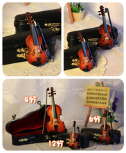 1/6 70cm boy Mini musical instrument mini violin decoration birthday gift bjd accessories(China (Mainland))