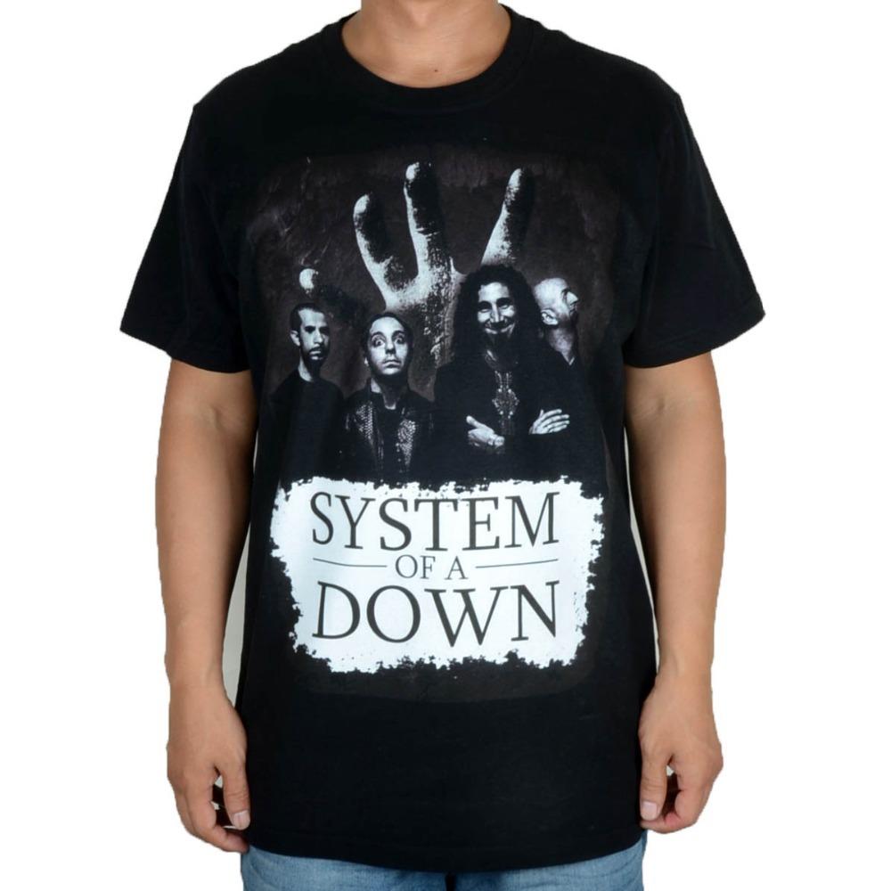 System of A Down SOAD  Concert Tour 2014 black 100% cotton new T-shirtОдежда и ак�е��уары<br><br><br>Aliexpress