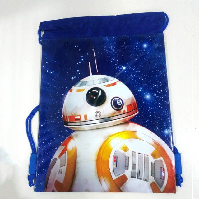 37*28 см Guerra De Las Galaxias Силы, Чтобы Пробудить BB-8 Шаблон Сумки Многофункциональный ...