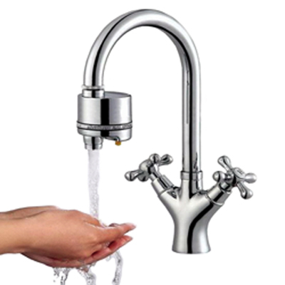Change manual faucet into automatic save water 70 diy installation for kitchen auto spout - Automatic kitchen faucet ...