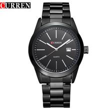 Curren relógios relógio de homens de quartzo-relógio relogio masculino relojes hombre Analógico esportes Casuais 8091