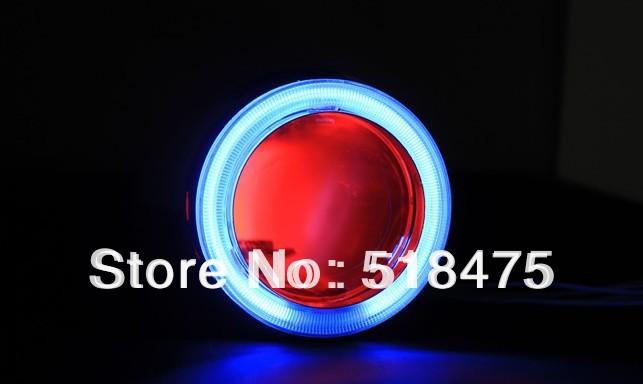 H1  HB3 H4 H7 HB4  9007 8000K 6000K 4300K 2.8'' inch Bi Xenon Lens Projector CCFL Double Angel Eyes