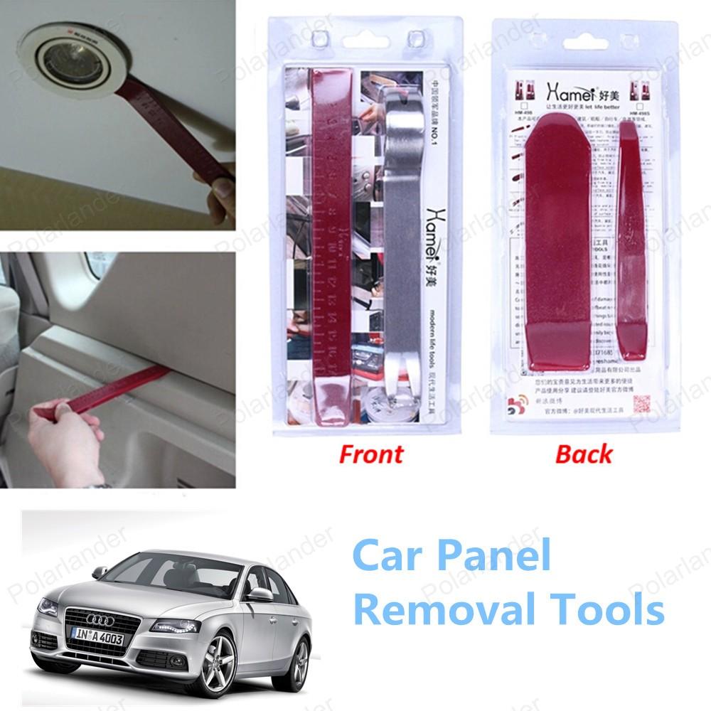 Высокое качество 4 шт./компл. комплект инструментов автомобиля удаление панель инструментов
