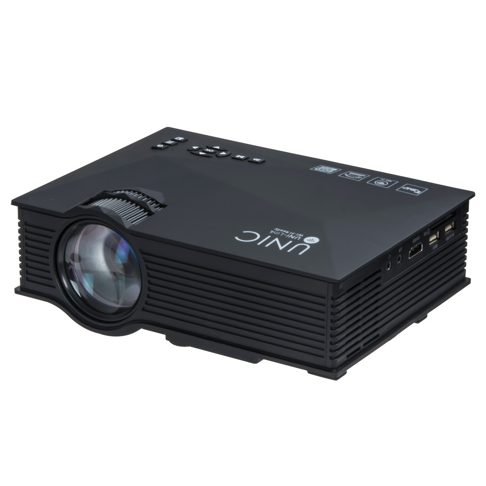 2016 newest original unic uc46 mini portable projector for Mini portable pocket projector