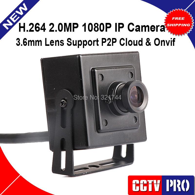 Super Mini IP Camera Size 41x41mm Low illumination 2.0MP 1080P HD 2MP IP Camera ONVIF P2P Vandalproof 3.6mm Indoor Use(China (Mainland))