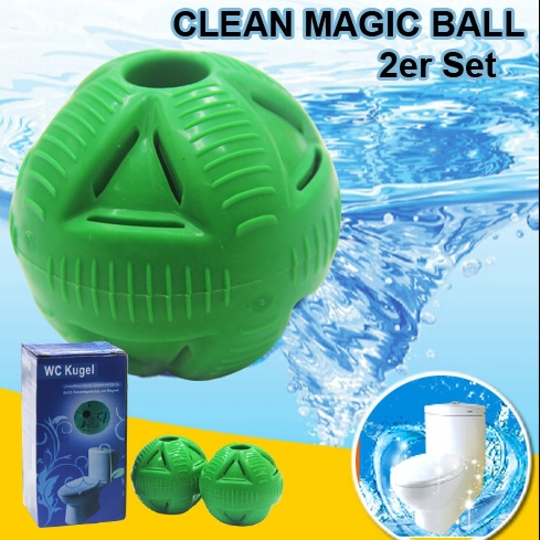 Newest 2pcs/pack Eco-Friendly WC Deodorant Ball Toilet Cleaner Adsorption Ball Fresh Air Cleaning Ball Cheaper Housewife Helper(China (Mainland))