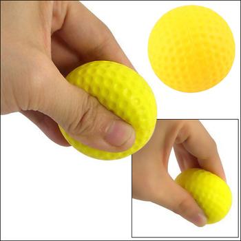 Light Indoor Outdoor Training Practice Golf Sports Elastic PU Foam Ball 5Pcs  [22611 01 05]