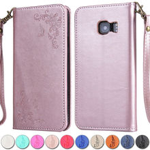 Buy Coque Samsung Galaxy S6 Case Flip Leather Stand Cover Samsung Galaxy S6 Edge Plus 3D Rose Flower Fashion Wallet Phone Case for $3.75 in AliExpress store