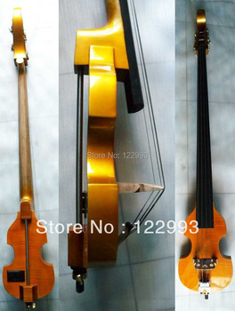 3/4 new Electric Upright Double Bass Finish silent Powerful Sound