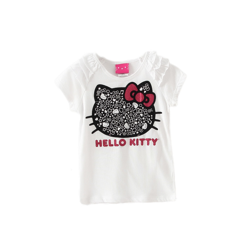 2015 girl clothes children clothing kids t-shirt family clothing kids  t shirts girls tops shot  sleeve top free shipping GLT03<br><br>Aliexpress