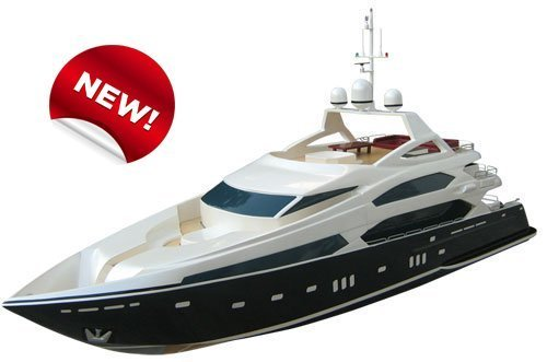 rc model2011 New, Free shipping,rc boat, Brushless EP Large Boats, Sunseeker Tri-deck Luxury Yacht 1280BP(A), nor radio toys