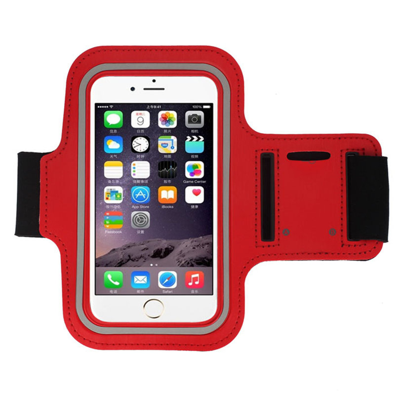 Sports Gym Running Jogging Armband Arm Band Case Cover for iPhone 6 Plus 5.5 Inch Arm Belt Band Travel Fee Shipping Wholesale