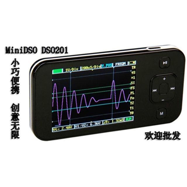 DSO201 ARM Nano Pocket Portable Digital Oscilloscope DS201 DSO Mini 2.8 with USB Cable Limt Bag Probe<br><br>Aliexpress