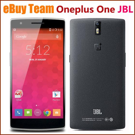 Oneplus One Plus One JBL FDD LTE 4G 5 5 Qualcomm Snapdragon 8974AC Quad Core 3GB
