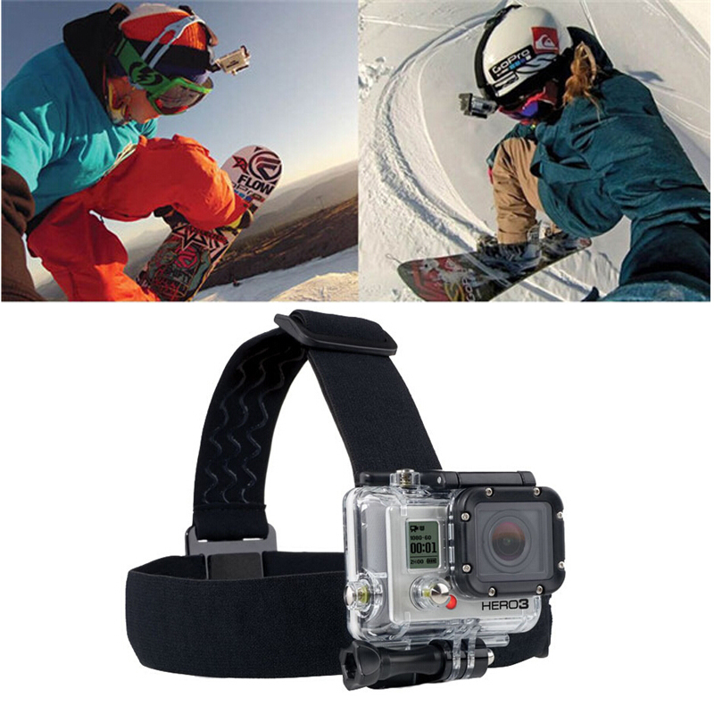 Gopro Accessories With Black Edition Gopro Head Strap For