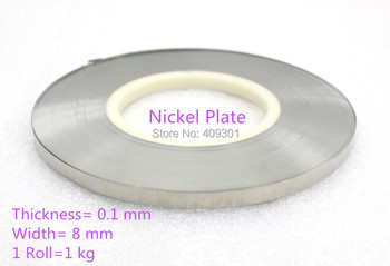 FREE SHIPPING 0.1*8mm Nickel  plate For Battery,,Spot Welding machine Nickel Plate,Nickel Sheet