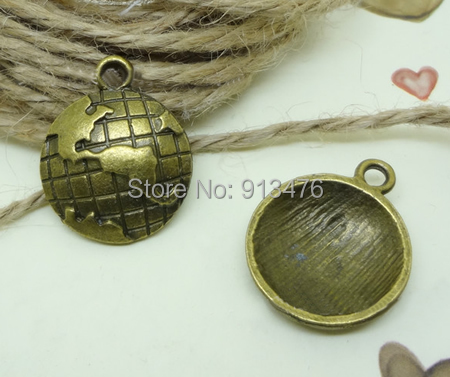 Free shipping!!!Zinc Alloy Flat Round Pendants,Jewelry 2014 Fashion, Dome, antique bronze color plated, nickel<br><br>Aliexpress
