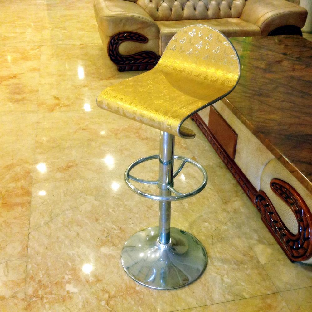 Half of the Tyrant gold rotating bar stool reception desk chair lift stools home(China (Mainland))