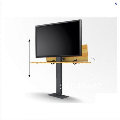 free shipping for bed lcd tv stand can be lift 600mm with Superflat Swivel TV Lift(China (Mainland))