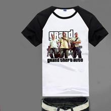 GRAND THEFT AUTO V GTA T-shirt Breathable quick-drying top Y15 Fashion Brand t shirt men new high quality(China (Mainland))