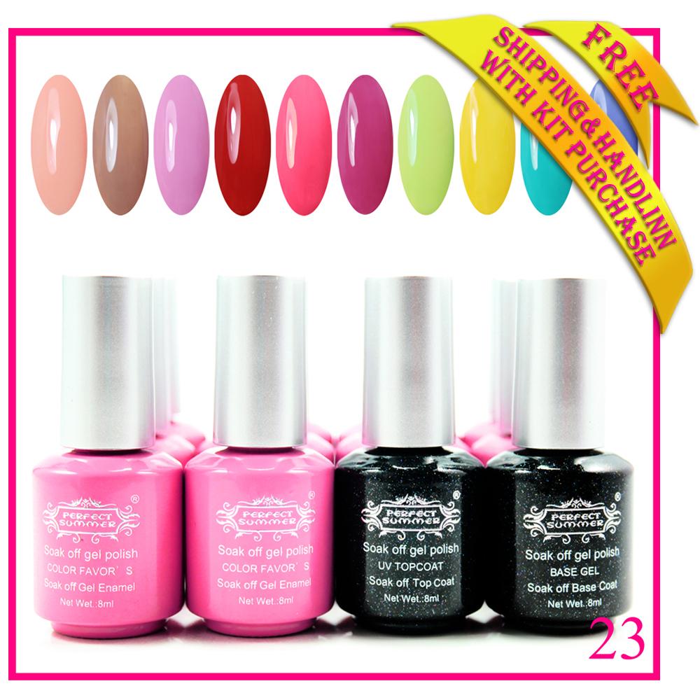 2015 new shellac nail gel 240 colors & base gel & ...