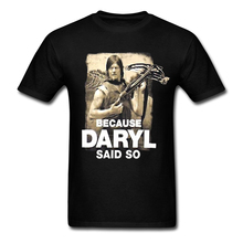 Buy Walking Dead Men's T Shirt New Fashion Design Daryl Said Printed Cotton Basic Top Tee Summer Adult T-shirts S-3XL for $16.55 in AliExpress store