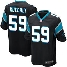 2016 New Man Carolina panthers, 59# Luke Kuechly,1# Cam Newton, black white blue 100% stitched Logo and name, free shipping(China (Mainland))