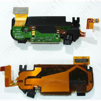 Black Dock Connector Complete for iPhone 3GS (High Quality)