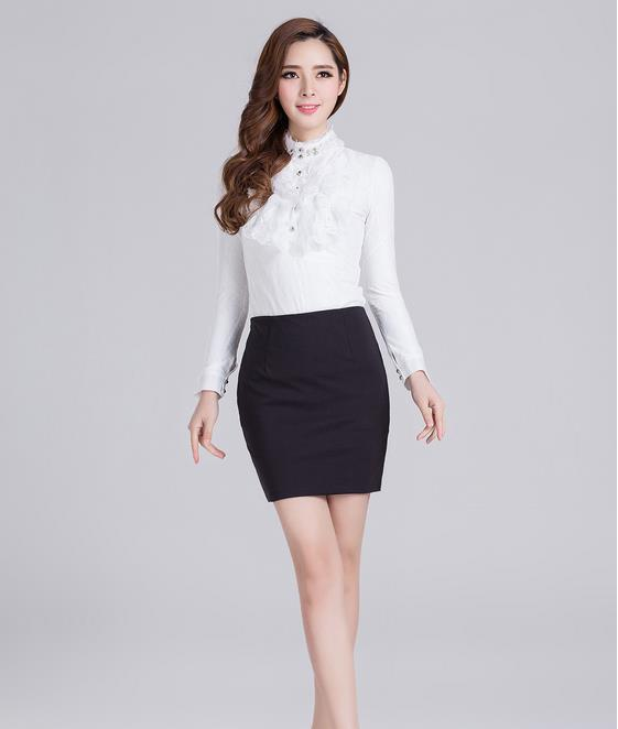 New Fashion 2015 European and American Style Sexy slim solid women clothing Big Code 3xl&4xl candy color women skirts(China (Mainland))
