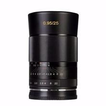 Buy Meike MK-FX-25-0.95 Large Aperture Manual Focus lens APS-C Fujifilm XT1 for $659.90 in AliExpress store